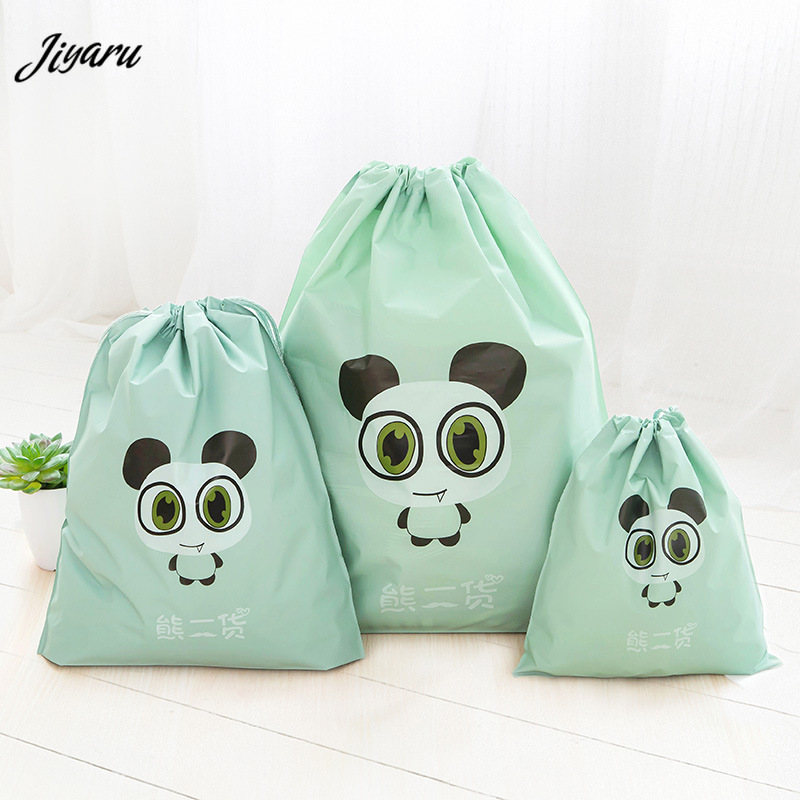 2019 Travel Makeup Bags Drawstring Storage Bags Suitcase Packing Organizers Portable Shoes Bags For Travel Clothing Storage