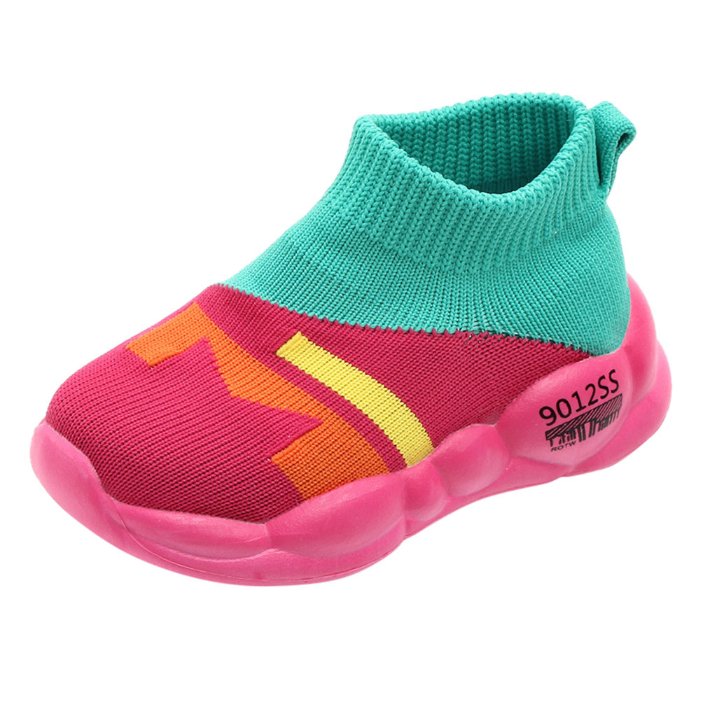 Toddler Infant Kids Baby Girls Boys Mesh Soft Sole Sport Shoes Sneakers Kids Mesh Breathable Fashion Casual Kids Shoes Winter