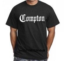 Compton Californie Gothique Eazy E Rnf Dr. Dre Straight Outta Compton T-Shirt Mode T Chemises Slim Fit Haut À Col Rond T-Shirt