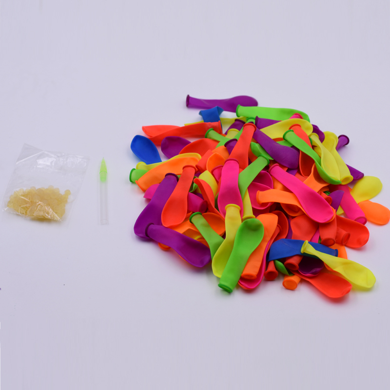 115pc Water Balloon Rubbers Bunch Accessories Magic Mix Color Balloons Supplementary Package Kid Beach Ball Water Game Party Toy