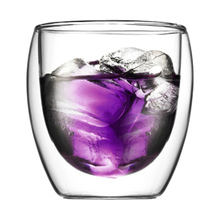Двухслойная стеклянная чашка для питья чая кофе латте сок товары для дома, кухни MYDING