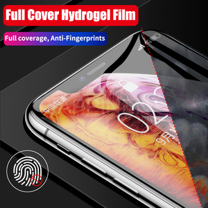 Image 5 - Front+Back Full Screen Protector TPU Film For iPhone XR XS Max X 8 7 6 6s Plus Hydrogel Film For iPhone 12 11 Pro Max mini Film