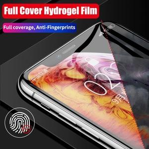 Image 5 - フロント + バックフルスクリーンプロテクターtpuフィルムiphone xr xs max x 8 7 6 6sプラスヒドロゲルフィルムiphone 12 11プロマックスミニフィルム