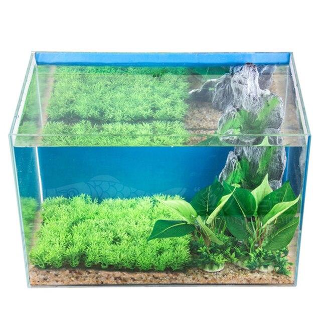 Artificial Aquarium Plant Decoration Fish Tank Submersible Flower Grass Decor Ornament For fish tank Decor Pet Supplies 6