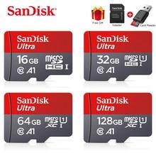 Sandisk Ultra 128 GB Micro SD GB GB 256GB 16 64 32GB Micro SD Card SD/32 64 128 gb microSD TF Cartão de Memória Flash Cartão de Memória para o Telefone
