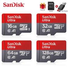 Sandisk-tarjeta Flash SD/TF para teléfono, Ultra Micro SD, 128 GB, 32GB, 64GB, 256GB, 16GB, 32 64, 128 gb