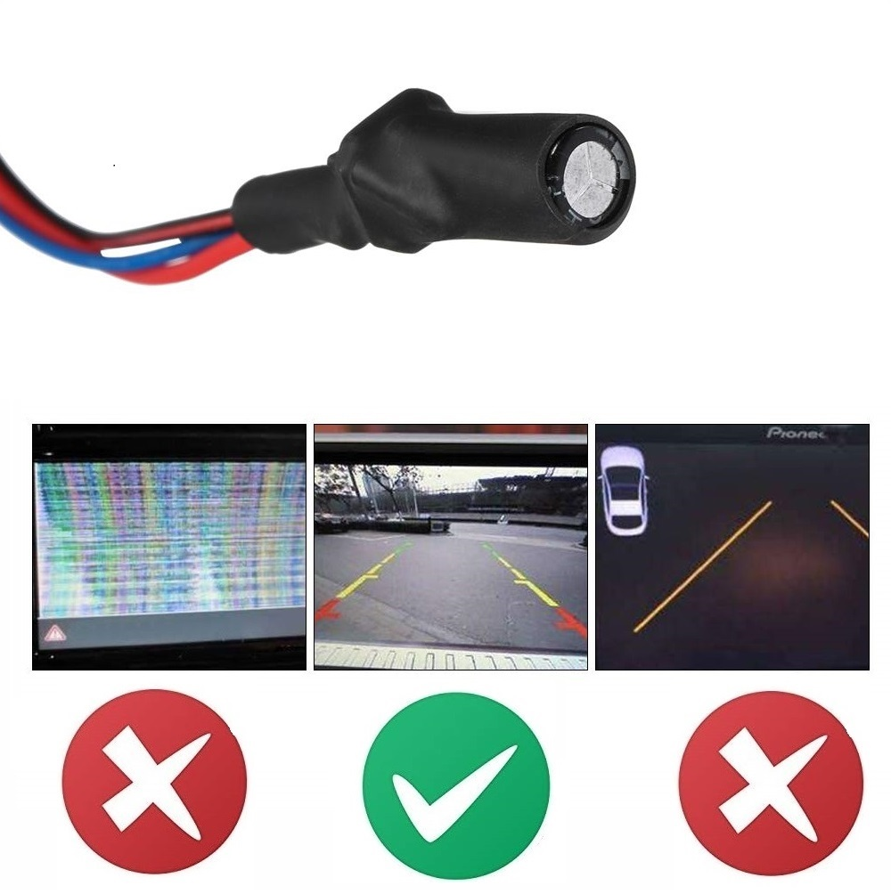 lowest price Car rear view camera system with 7 inch monitor backup camera monitor kit dual ccd lens Reverse camera monitor for Truck RVs Van