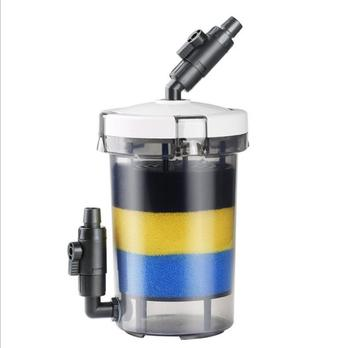 HW-602/603 Aquarium Canister Filter Fish Tank Front Filter Pump Mute Filter Accessories for Home Fresh Water