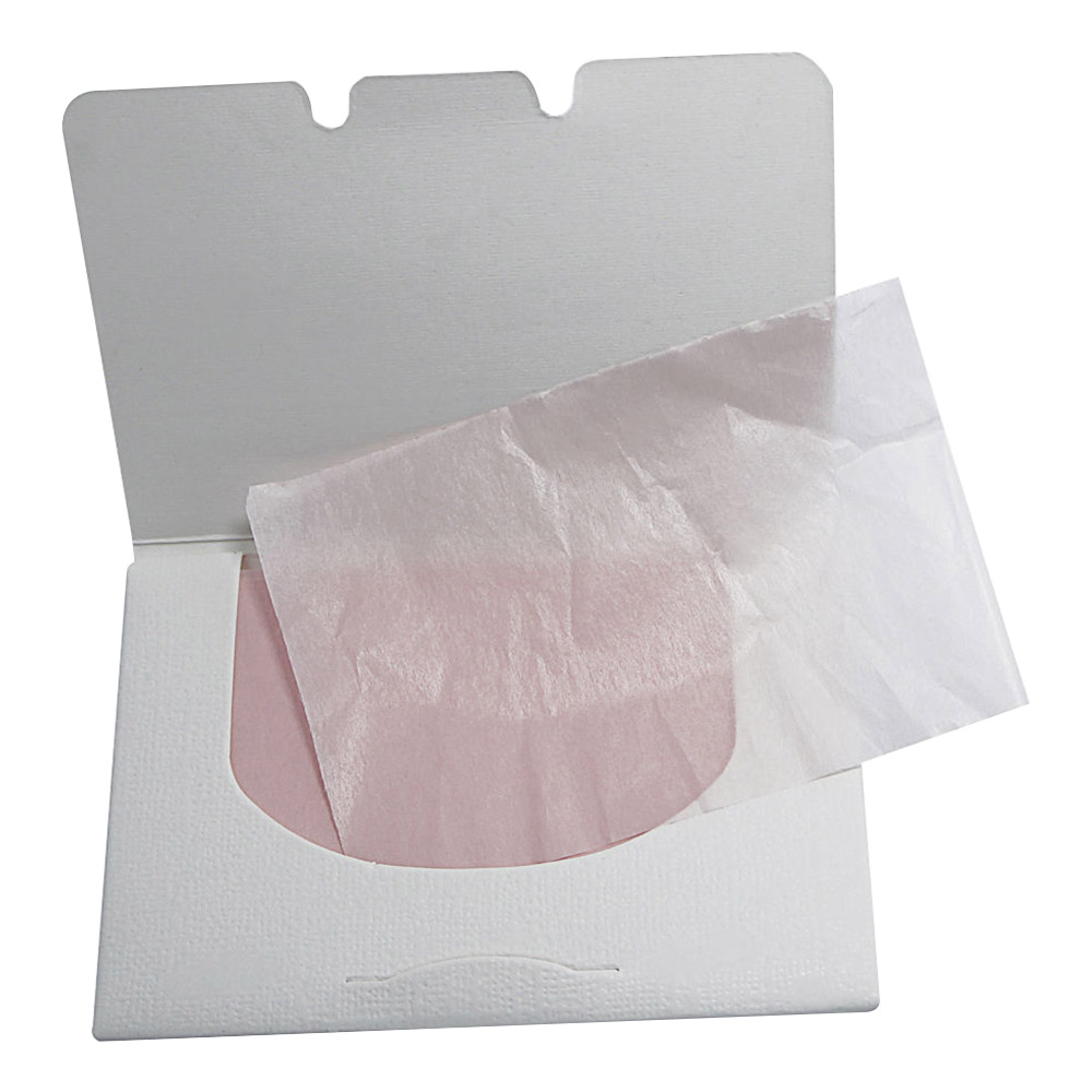 100pcs Hot Sale Random Facial Oil Control Absorption Film Tissue Makeup Blotting Paper Pulp