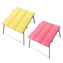 Camping składane biurko piknik stół krzesło składane 41 #215 31 8x28cm biurko tanie tanio MagiDeal CN (pochodzenie)