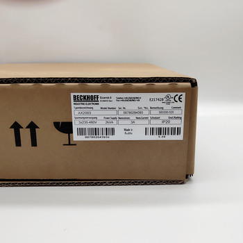 Beckhoff AX2003 S60300-520 kompaktowy aparat cyfrowy serwonapęd 3A 3X230-480V 2kVA S60300520