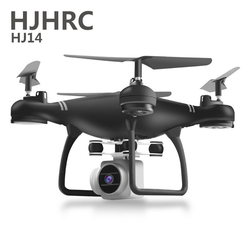 HJHRC HJ14W RC Helicopter Drone met Camera HD 1080P WIFI FPV Selfie Drone Professionele Opvouwbare Quadcopter 40 Minuten Battery(China)