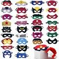 Маска супергероя косплей принцесса Хэллоуин Рождество Дети взросвечерние ринки костюмы маски