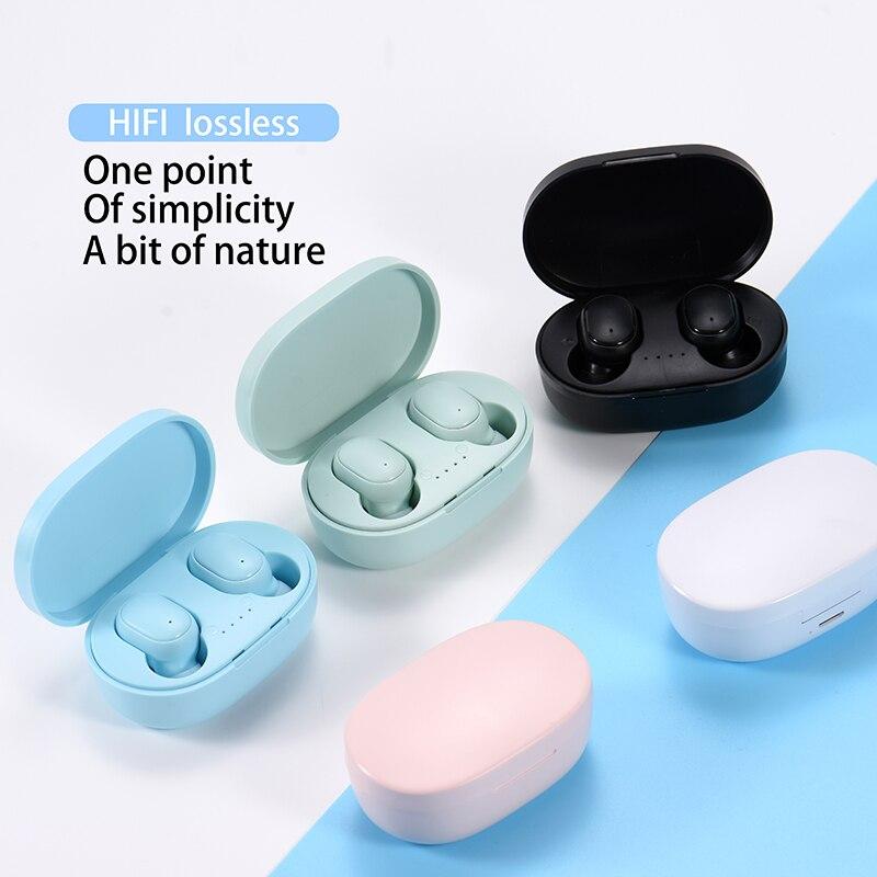 BOHM A6S беспроводные Bluetooth TWS наушники, мини-наушники-вкладыши с зарядным боксом, шумоподавляющая спортивная Гарнитура для всех смартфонов