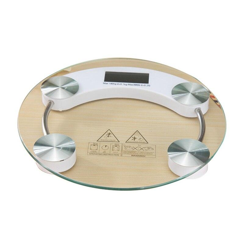 Ev ve Bahçe'ten Banyo Terazileri'de Tartı ölçekler Led dijital ekran ağırlık tartı elektronik akıllı denge vücut ev banyo