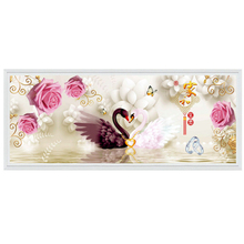 Diamond Embroidery Decoration Special-Shaped DIY Mural Full for Cartoon Crafts Swans