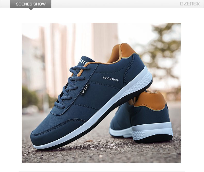 H93dcef66c6b243a08470f0acc7f22a3cn OZERSK Men Sneakers Fashion Men Casual Shoes Leather Breathable Man Shoes Lightweight Male Shoes Adult Tenis Zapatos Krasovki