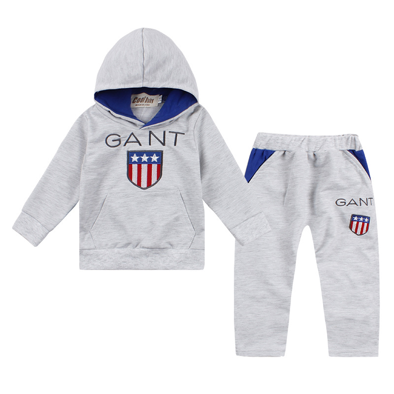 2019 New Style Childrenswear Autumn And Winter Hoodie CHILDREN'S Suit Children Autumn Pure Cotton Set Thick Warm CHILD'S Clothin on AliExpress