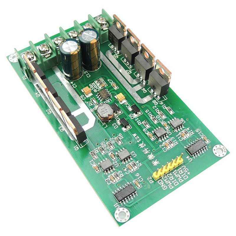 Puente H Superior controlador de Motor Dual CC módulo PWM CC 3 ~ 36V 15A pico 30A IRF3205 Placa de Control de alta potencia para Arduino Robot Smart Car