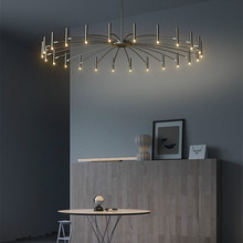 Lighting-Fixture Nordic-Designer Chandelier-Lighting Hanging-Lamp Bedroom Restaurant