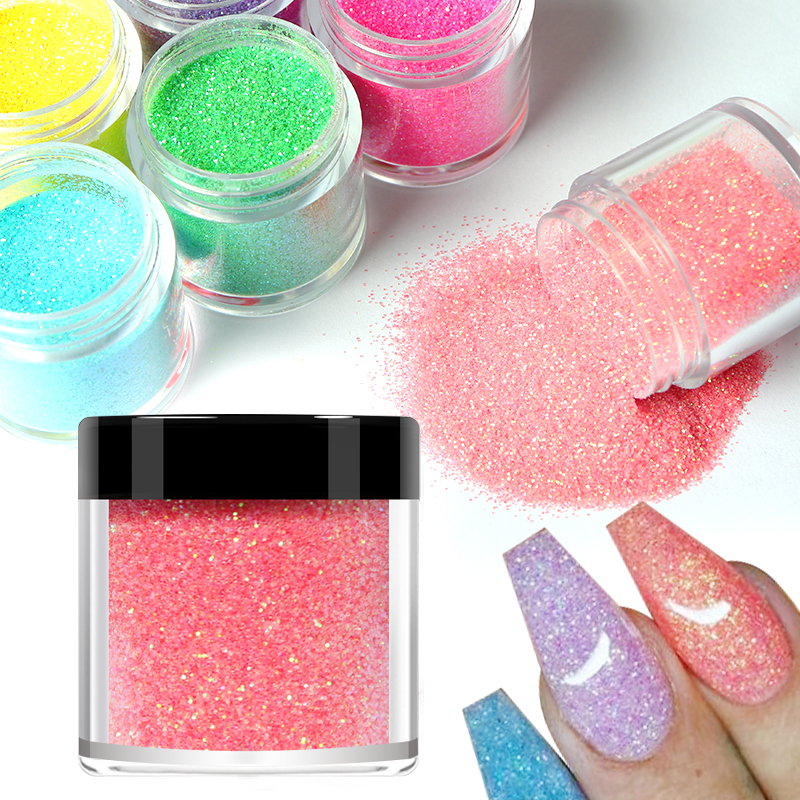 5g/box Nail Glitter Powder For Nail Art Gradient Shiny Sequins Pigment Chrome Dust Decorations Sugar Dipping Gel Polish Manicure