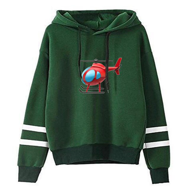TONY LOPEZ HELICOPTER STRIPED HOODIE (5 VARIAN)