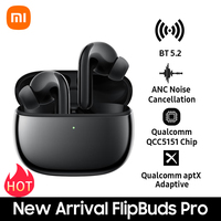 Xiaomi Mi Flipbuds Pro Ruisonderdrukking Draadloze Oortelefoon BT5.2 Headset Aptx Adaptive/Anc Ruisonderdrukking Sport Oordopjes W/mic