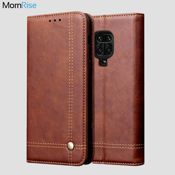 For XiaoMI RedMi Note 9 Pro Case Wallet Card Luxury Retro Leather Stand Magnetic Book Flip Cover For Xioami RedMi Note 9 S Cases 1