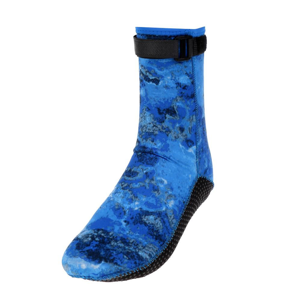 Comfortable 3mm Neoprene Scuba Diving Surfing Swimming Sail Socks Shoes Snorkeling Boots Water Equipment - XS S M L XL