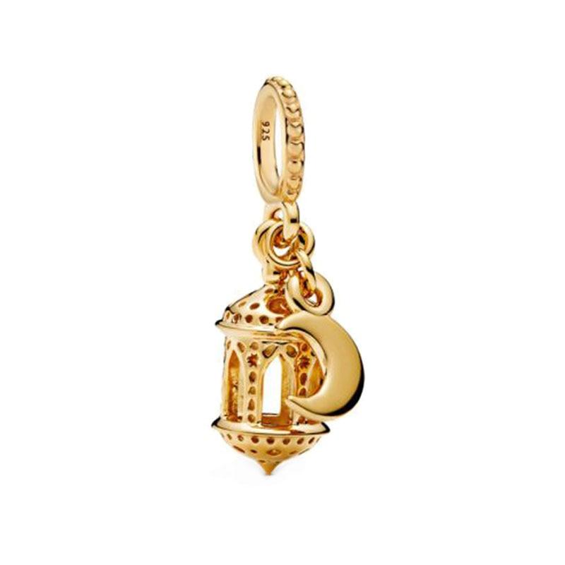 2020 Spring New 925 Sterling Silver Beads Arabian Lantern Dangle Charms Fit Original Pandora Bracelets Women DIY Jewelry