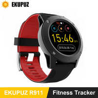 R911 Smart Watch Men Heart Rate Monitor GPS Fitness Tracker Compass Atmospheric Pressure Altitude Temperature Monitor Smartwatch