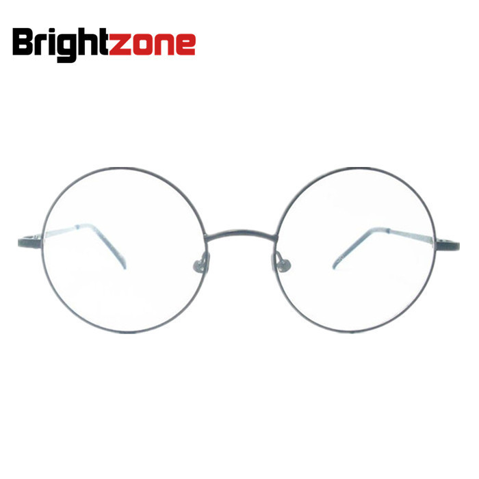 Besterseller Vintage Metal Full John Lenon Round Frame Brand Prescription Spectacles Eyewear Optical Eyeglasses Frame Glasses image