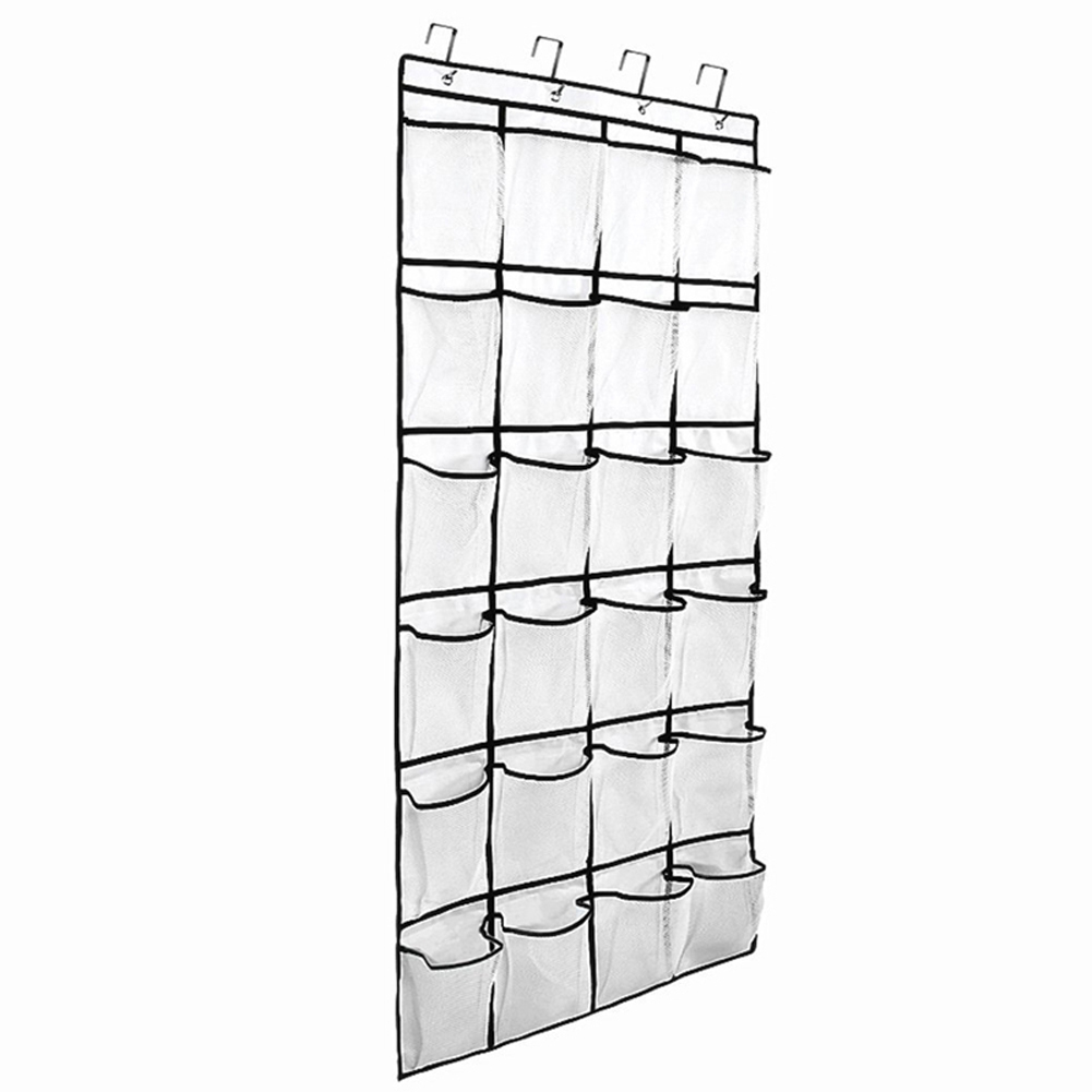 12 to 24 Pockets Shoe Hanger for Door and Closet to Save Extra Space Constructed with Strong Canvas 4