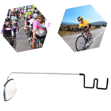Bike Bicycle Cycling Riding Mirror Helmet Mount Rearview Eyeglass View Rear Q2S2