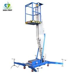 6 M Sampai 20 M Aluminium Alloy Aerial Bekerja Platform Man Lift