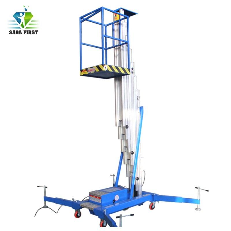 6m To 20m Aluminum Alloy Aerial Work Platform Man Lift