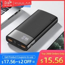Kuulaa Power Bank 20000 Mah Qc Pd 3.0 Poverbank Snelle Opladen Powerbank 20000 Mah Usb Externe Batterij Oplader Voor Xiaomi mi 10 9