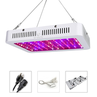 LED Grow Light Full Spectrum 1000W Double Chips LED Plant Growing Lamp for Indoor Plants Flower Hydroponics Greenhouse Tent