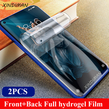 Front+Back hydrogel film for huawei honor20 20i 20lite soft screen protector for