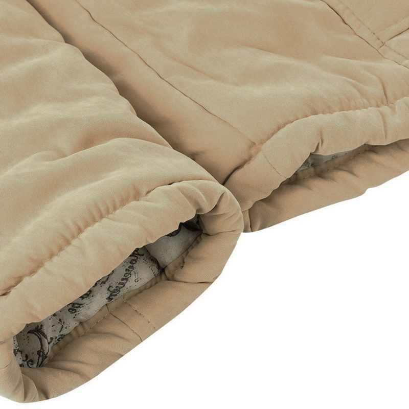 CALOFE Winter Jacke Frauen 2019 Neue Warme Pelz Kragen Schlank Zipper Oberbekleidung Parka Weiblichen Schnee Tragen Lange Jacke Mäntel Plus größe 3XL