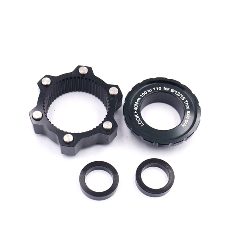 Center Lock Hub Boost Adapter,Center-Lock for 6-Hole, 15X100 to 15X110, 12X142 to 12X148