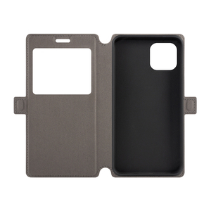 Image 2 - PU Leather Phone Case For Cubot C30 Flip Case For Cubot C30 View Window Book Case Soft TPU Silicone Back Cover