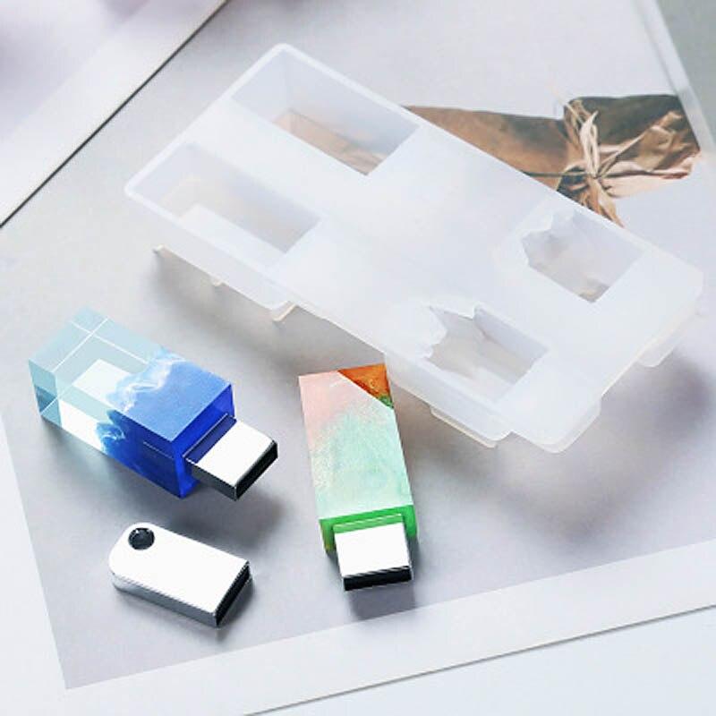 DIY Resin Mold Imitation Mountain Snow Mountain Peak Broken Mold U Disk Silicone Mold Crystal Epoxy Manual