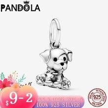 2020 розничная продажа 925 стерлингового серебра лабрадор щенок