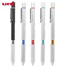Uni 자동 연필 0.3/0.5/0.7/0.9mm 학생 활동 리드 M5 1010 금속 중력 연필의 낮은 센터