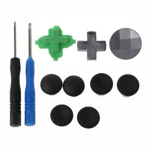 Image 3 - Swap Thumb Analog Sticks Grips Stick D Pad Bumper Trigger Button Replacement Parts For Xbox One Elite Controller
