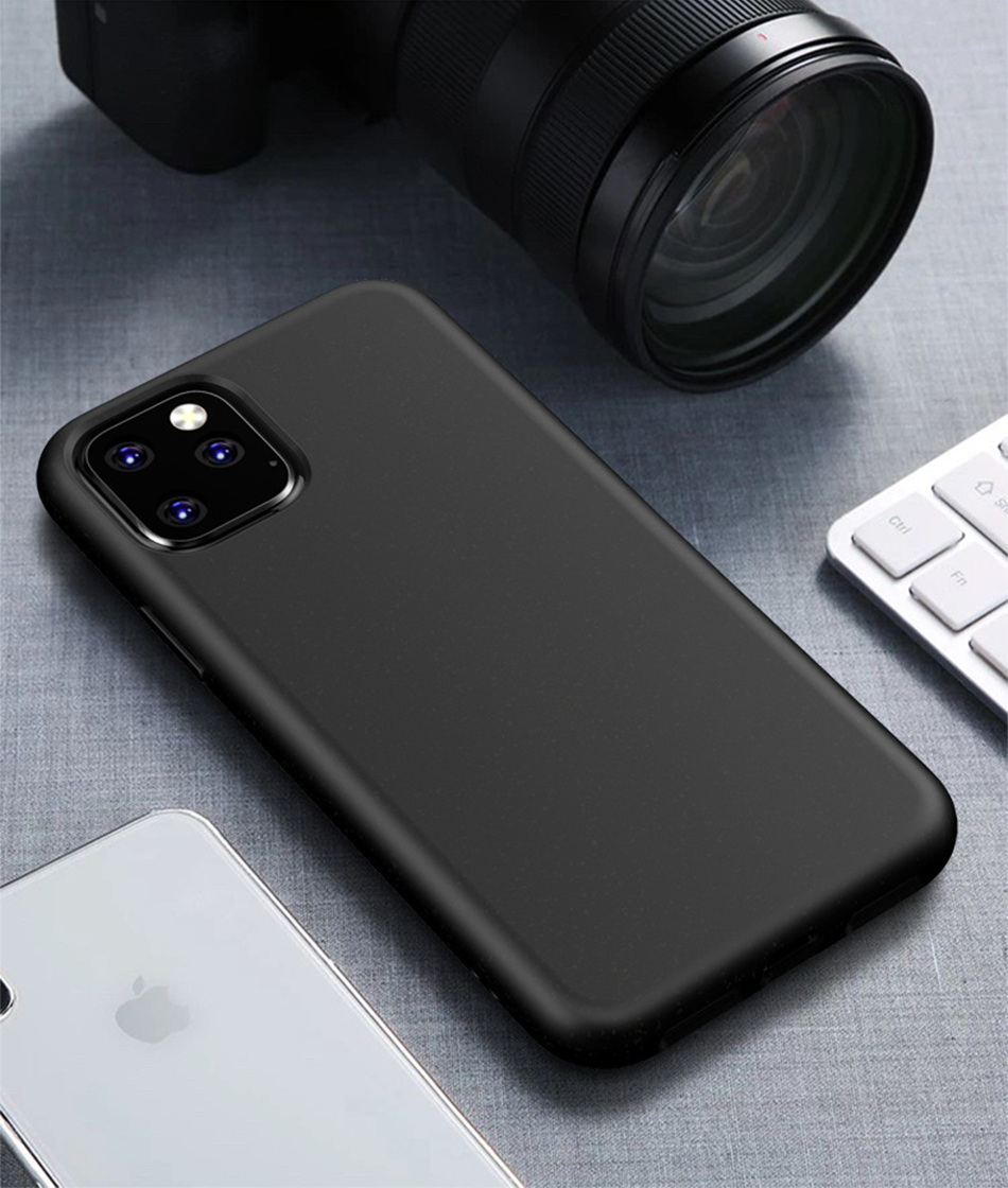 !ACCEZZ Candy Color For iPhone 11 Pro Max Case 2019 New TPU Soft Matte Protection Back Cases Cover Cell Phone Skid Shell Coque (12)