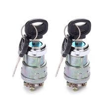 Ignition Switch with Key, Lenmumu Universal Engine Starter Switch for Car, Motorcycle, Tractor, Forklift, Truck, Scooter, Trail the water pump for tractor with yto engine like tractor x 654 js 654 please check with us about engine model
