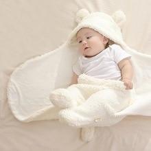 Envelope Sleeping-Bag Blanket-Wrap Swaddle Bedding Newborn-Baby 0-12-Months Winter Autumn
