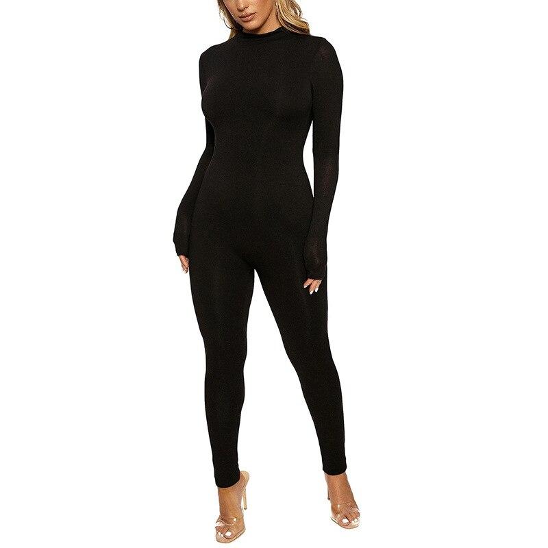Sexy Women Bodycon Jumpsuit Letter Print Backless Sleeveless Slim Romper Stepsiblings 1